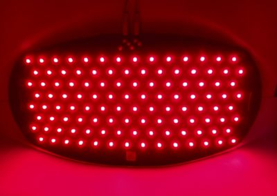 LED overmoulded pad